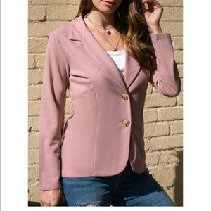 ❤️ Valentines! Blush button down jacket